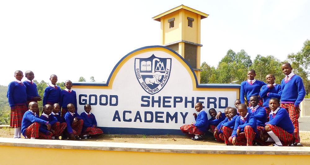 Good Shepherd Academy sign