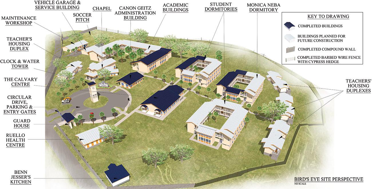 GSA campus site plan