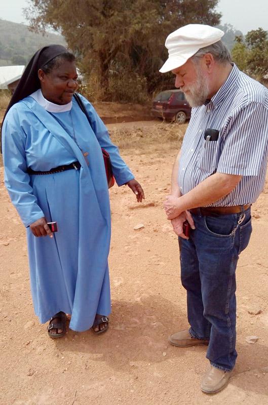 Sister Jane and Poul Bertelsen