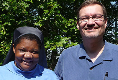 Sister Jane and Dr. Rankin