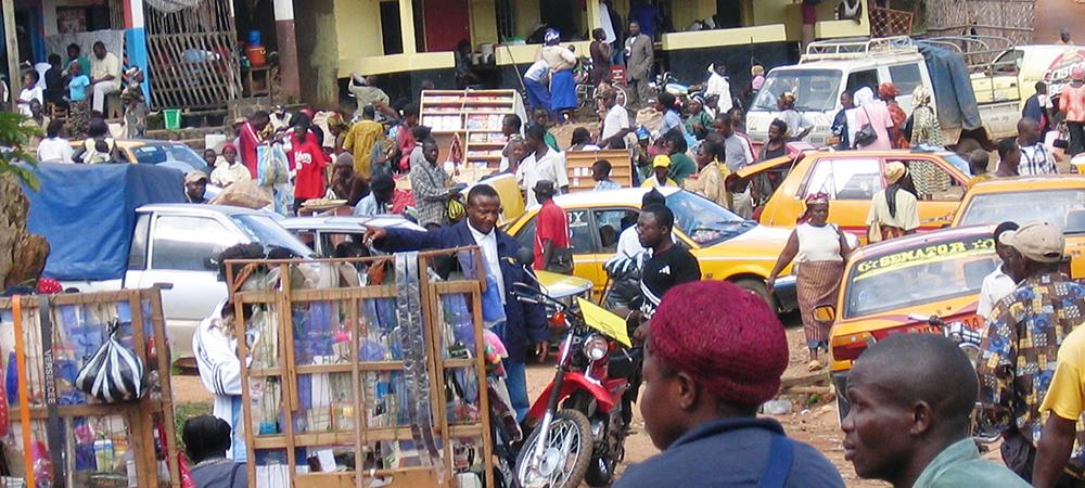 Bamenda street scene