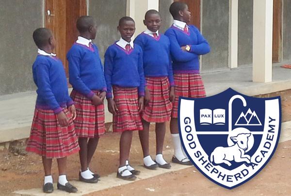 school uniform with shoes